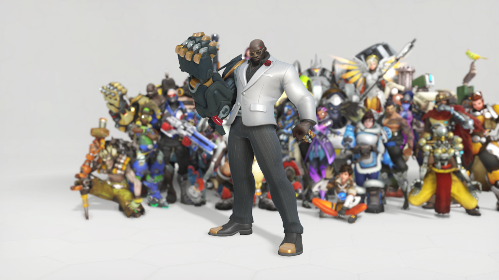Overwatch anniversary the best skins formal doomfist