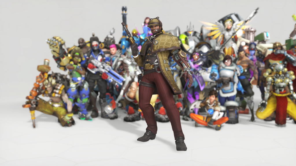 The best overwatch anniversary skins Sherlock McCree