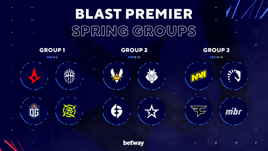 BLAST Premier Spring Groups CS:GO coaches Valve ruling