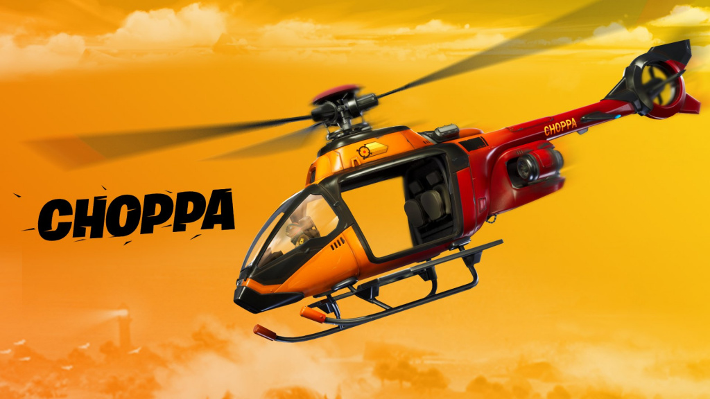 Choppa Helicopter v12.20 Fortnite patch notes