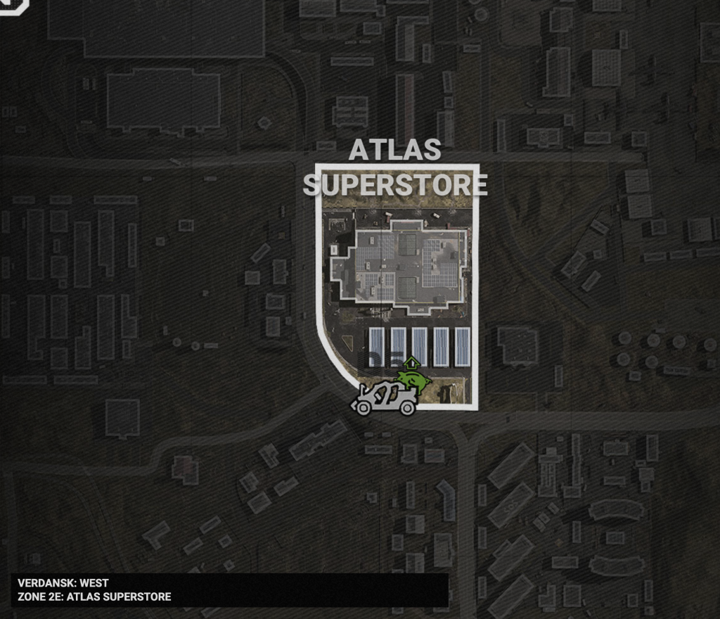 Call of Duty Atlas Superstore best places to land