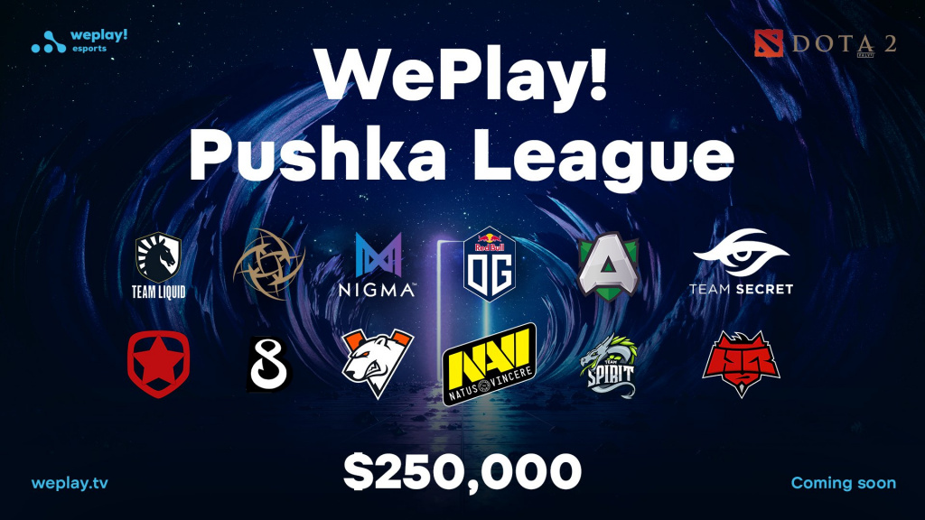 WePlay! Pushka League Dota 2 $250,000