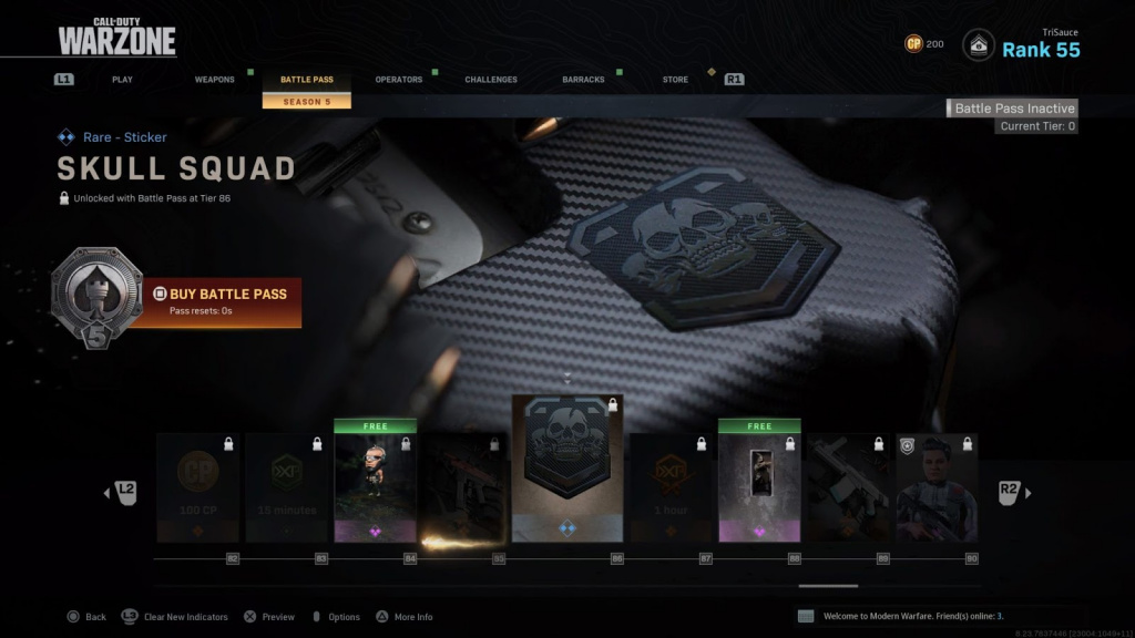 COD Warzone battle pass price and cost