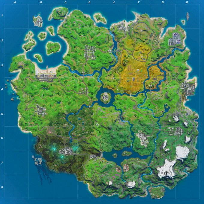 Fortnite Map v12.20 patch notes Oil Rig Patch notes