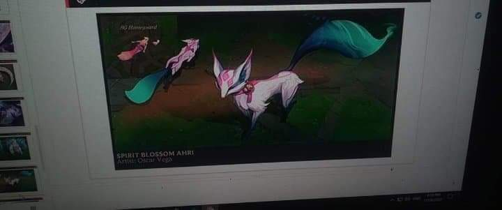 Ahri Spirit Blossom League of Legends
