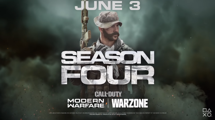 Call of Duty Modern Warfare season 4 release date