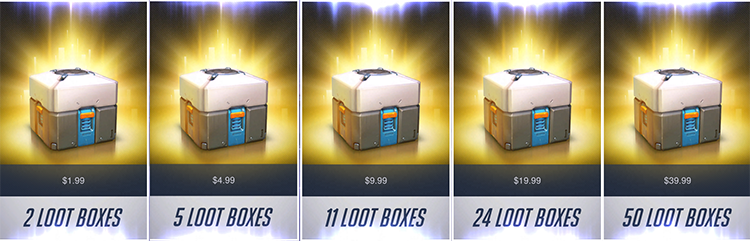 Games that contain loot boxes will now come with a warning