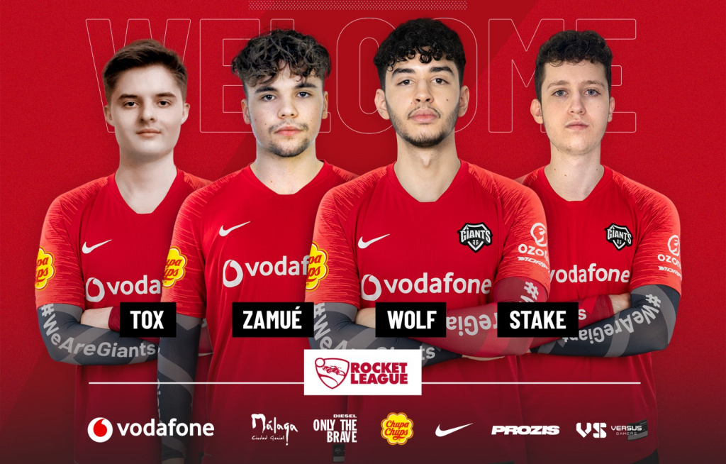 Vodafone Giants Rocket League RLRS Canyons stonkers RCD Espanyol