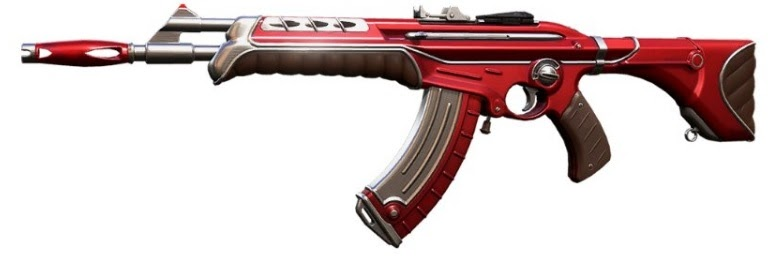 Valorant Weapon skins leak all cosmetics  Vandal red and white