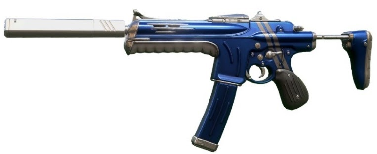 Valorant Weapon skins leak all cosmetics Spectre Blue and White