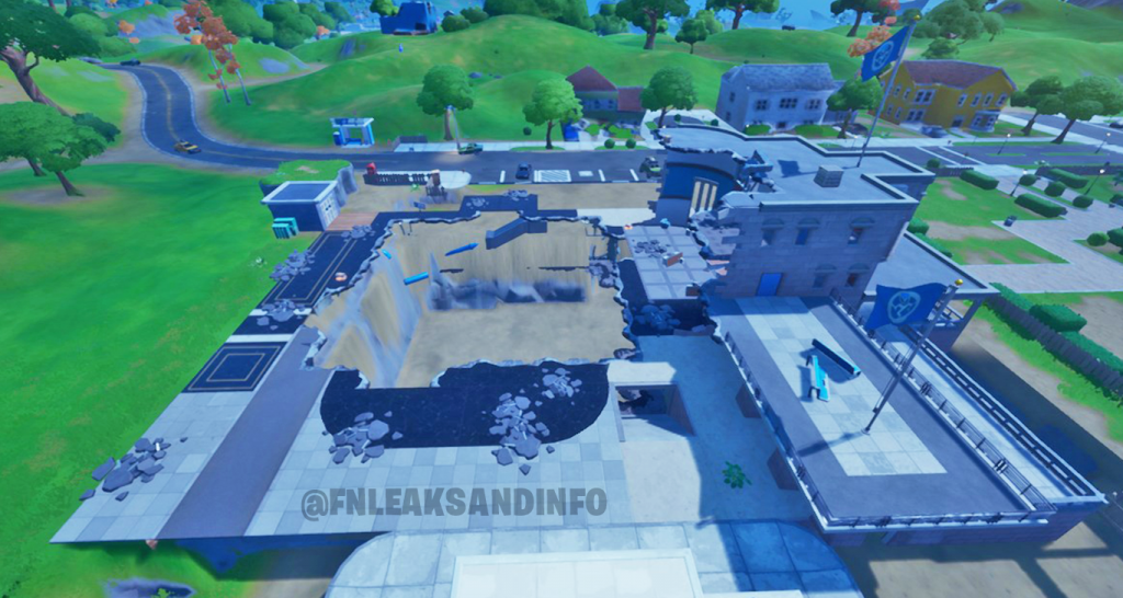 Fortnite Dataminers Leaked The Agency S Appearance After Doomsday