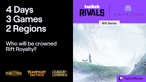 Twitch Rivals Rift Series Spirit Blossom: Schedule, format, teams, and how to watch