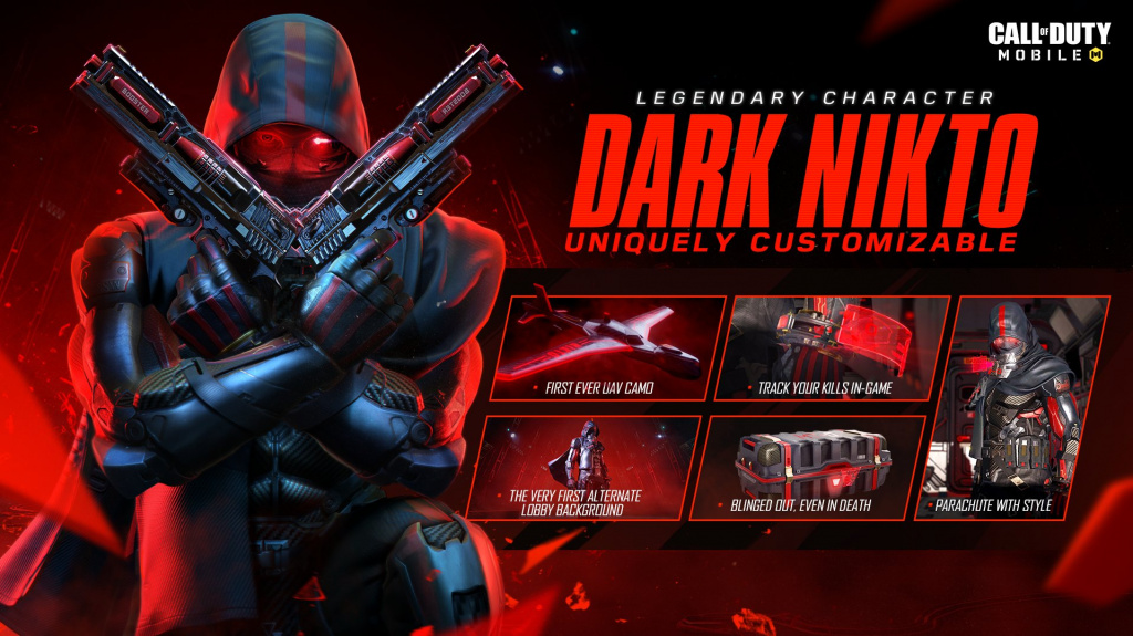 Cod Mobile Legendary Operator Dark Nikto How To Get And Free Lucky Draw Details Ginx Esports Tv