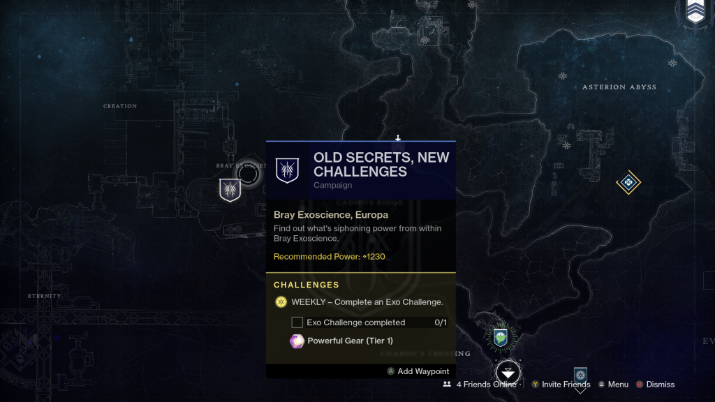 destiny new mission