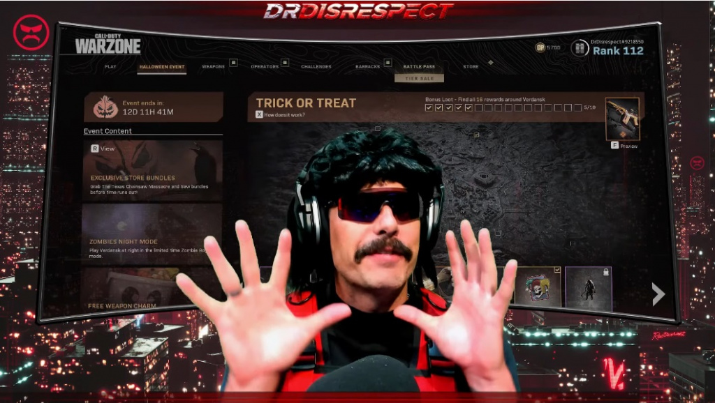 The best Call of Duty player on the sticks is Aydan, according to DrDisrespect