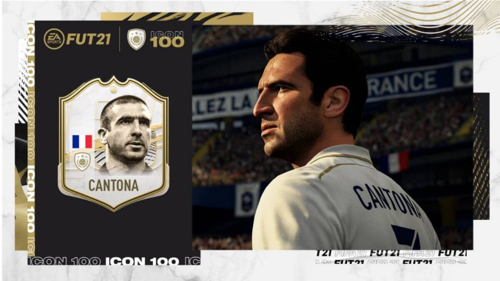 Eric Cantona's FIFA 21 ICON rating has been revealed