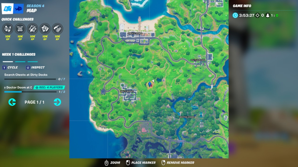 Fortnite Ant-man, Fortnite ant-man location, ANt-man poi, antman poi, where is antman in fortnite