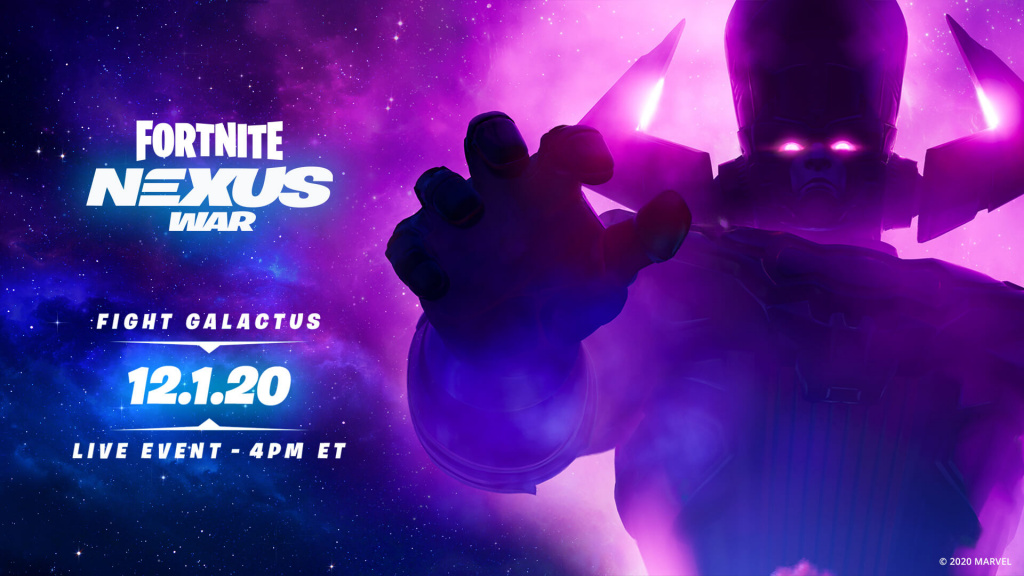 Fortnite Galactus nexus war start time date how to join