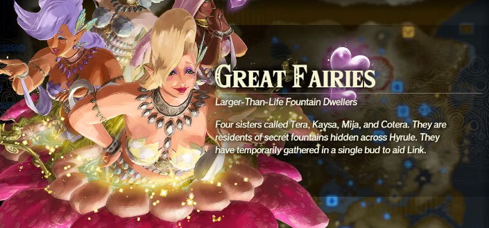 How To Unlock Great Fairies In Hyrule Warriors Age Of Calamity Ginx Esports Tv