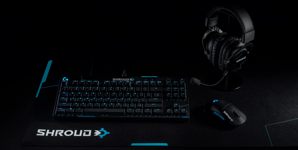 New Shroud collaboration breaks Logitech site