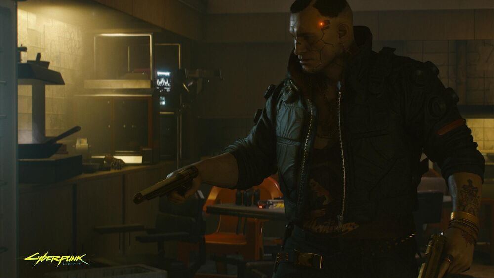 How to find Jackie's Iconic pistol in Cyberpunk 2077