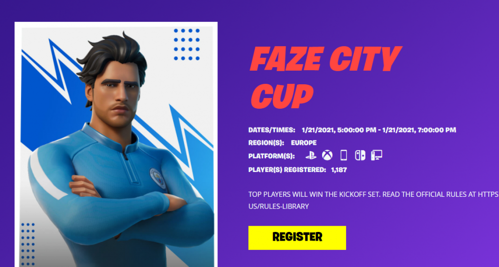 Fortnite Faze City Cup Schedule How To Join Format And Prize Pool Ginx Esports Tv