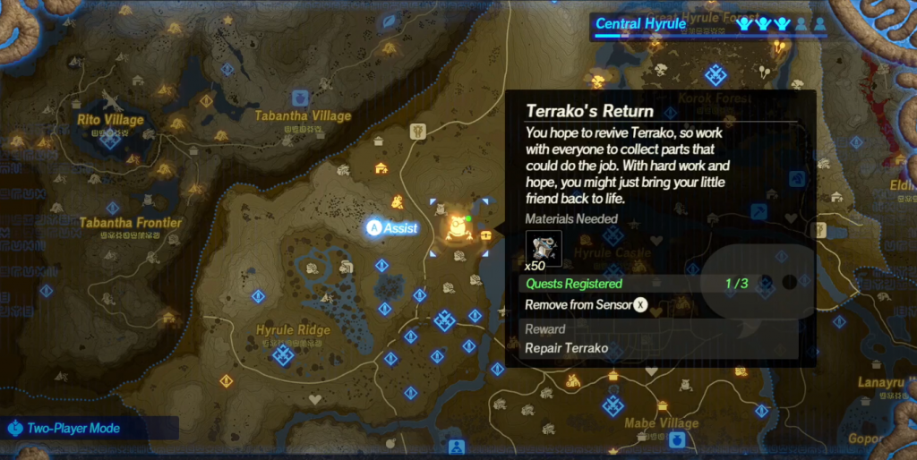 How To Unlock Terrako In Hyrule Warriors Age Of Calamity