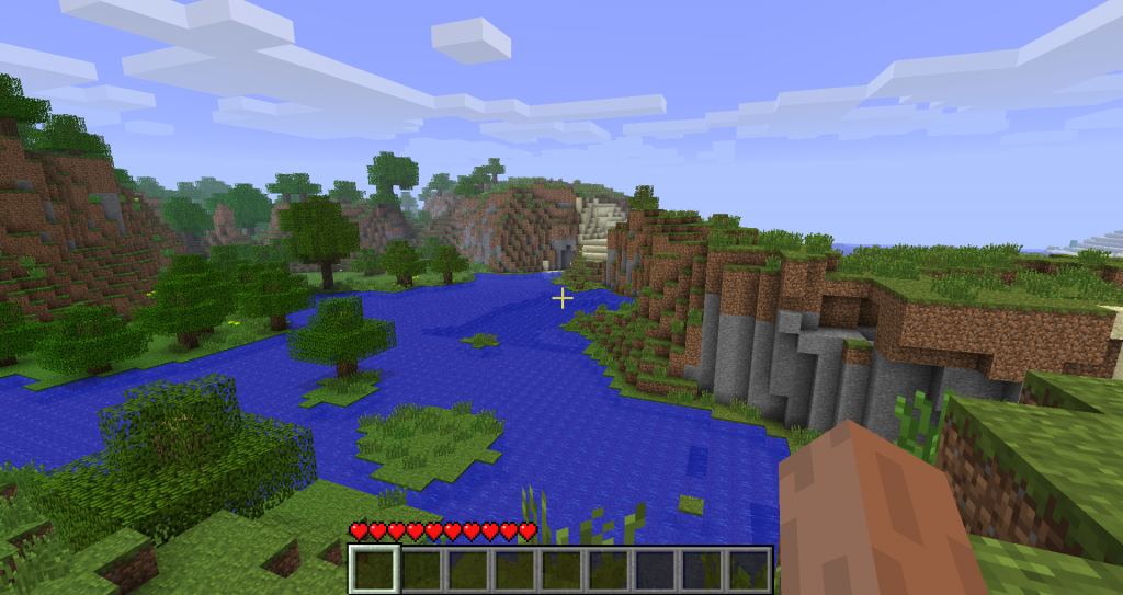 The Seed Of Minecraft S Title Screen World Has Finally Been Discovered