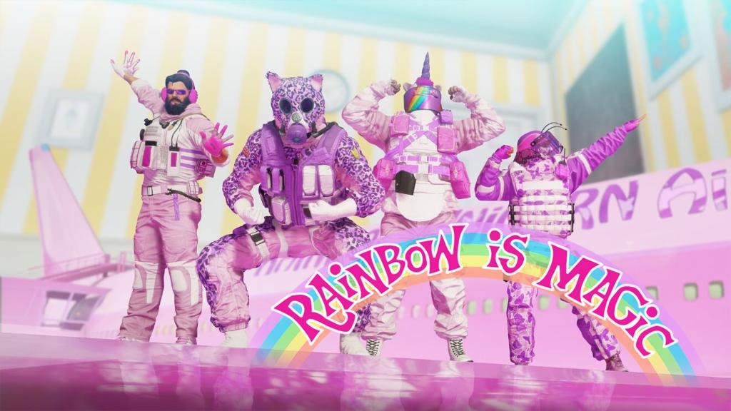 Rainbow is magic mafia event rainbow six siege