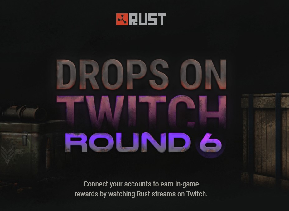 Rust Twitch Drops 6 All Drops Streamers And Schedule Ginx Esports Tv