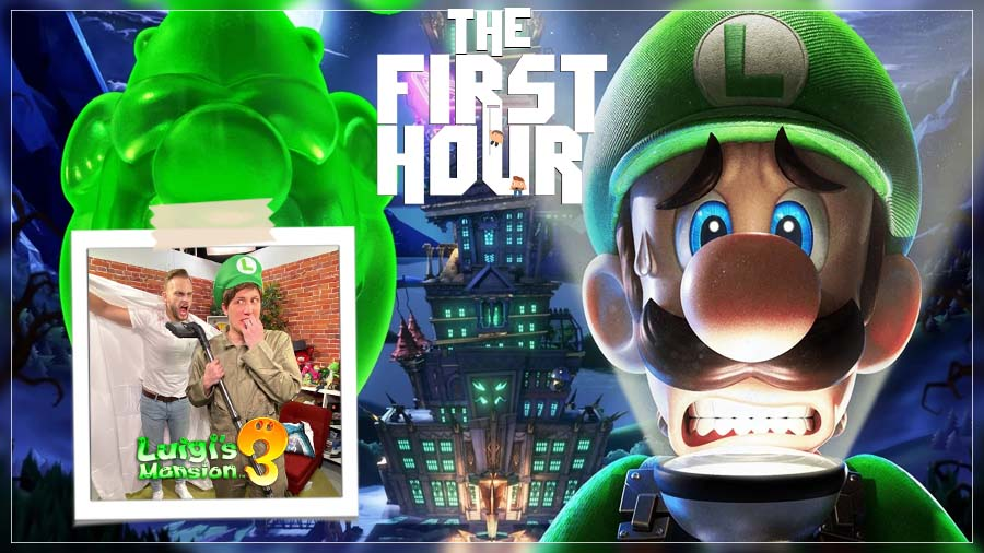 The First Hour: Luigi's Mansion 3