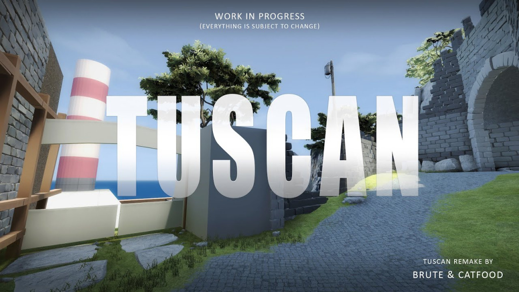 CS:GO Tuscan map reveal could signal long-awaited map pool update
