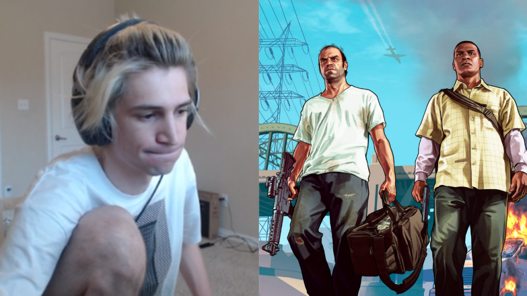 xQc handed ban from GTA's NoPixel 3.0 roleplay server