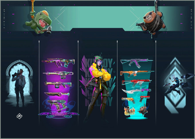 Valorant Act 2 Battle Pass: Skins, cost, player cards, sprays, gun ...