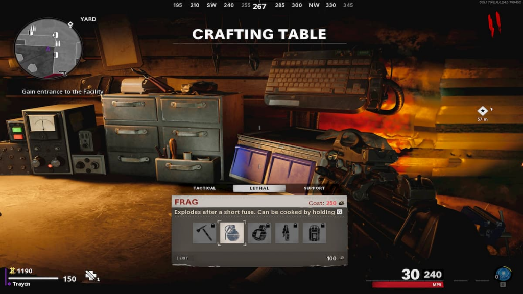Cold War Zombies Crafting Table Guide All Items Part Cost And Locations Ginx Esports Tv