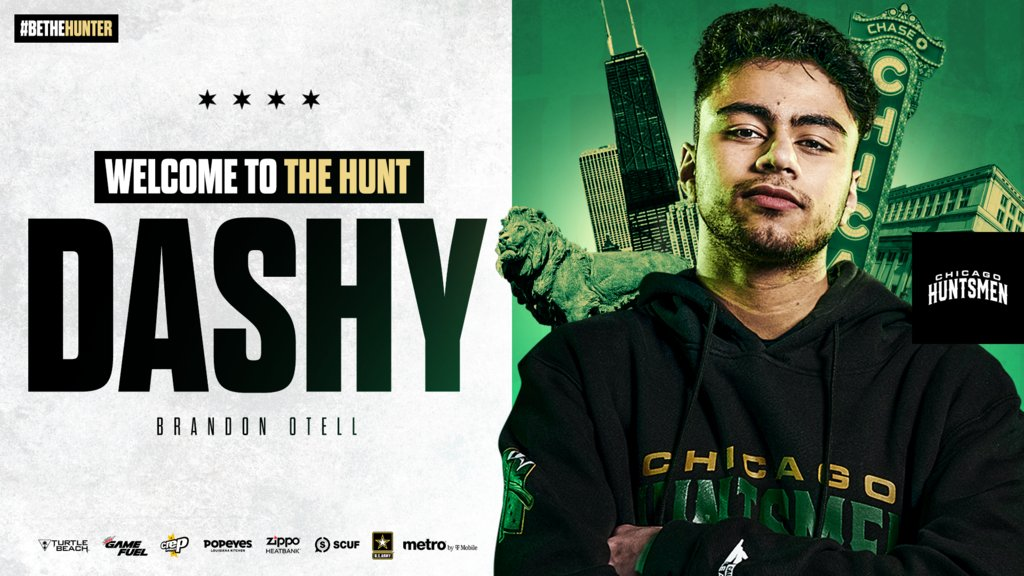 Dashy completes Chicago Huntsmen roster for CDL 2021 season