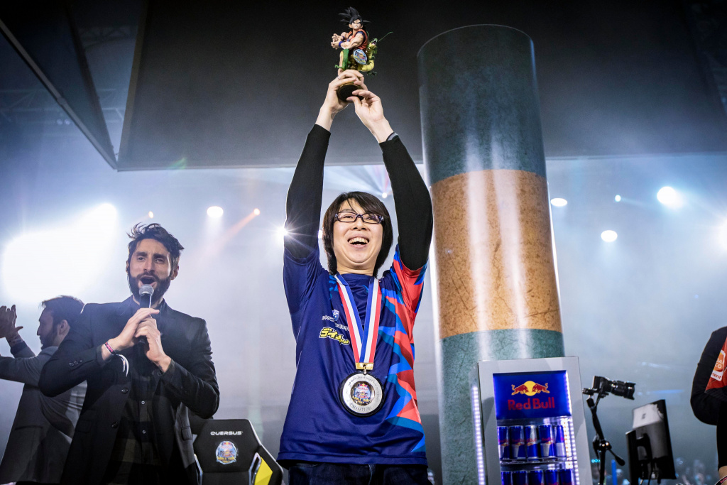 GO1 wins Dragon Ball FighterZ World Tour 2020
