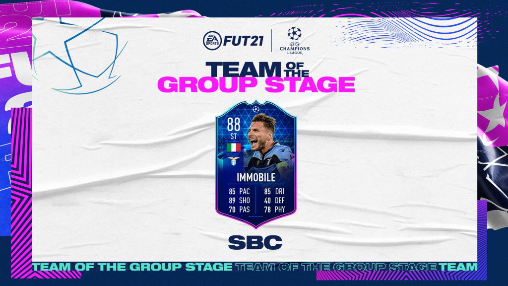 FIFA 21 Immobile TOTT SBC: Cheapest solutions, stats, all rewards
