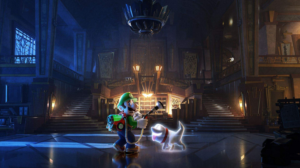 Luigi's Mansion 3 new