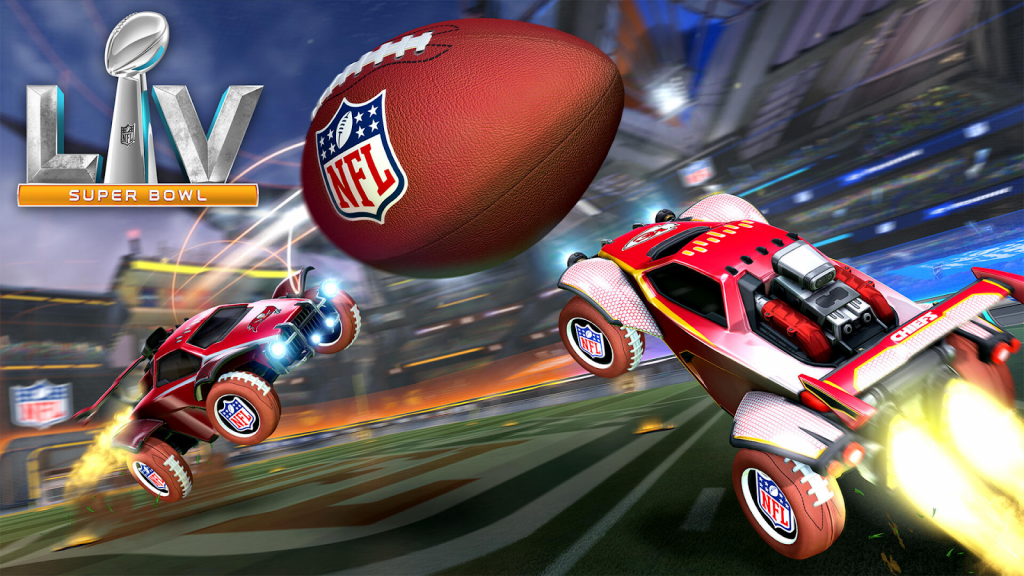 Rocket League adds American Football mode for Super Bowl week