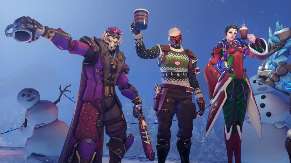 Overwatch Winter Wonderland 2020.Overwatch Winter Wonderland 2019 New Skins Leak As Event