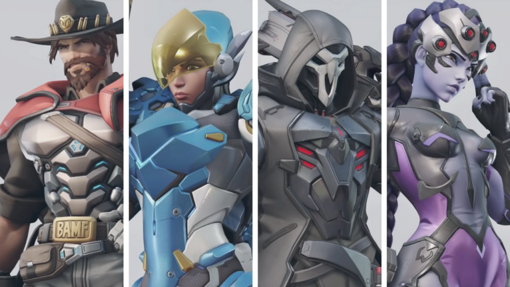 Mccree Pharah Reaper And Widowmaker Get Overwatch 2 Redesigns Ginx Esports Tv