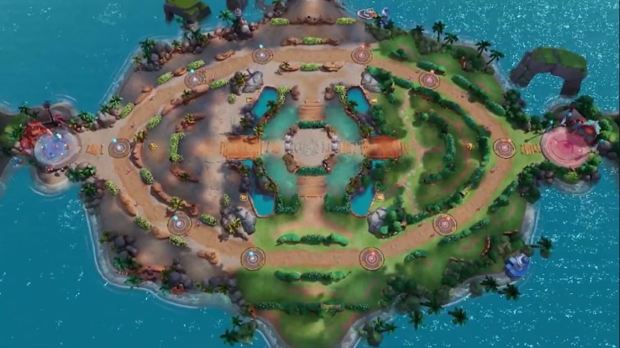 Pokemon Unite new map