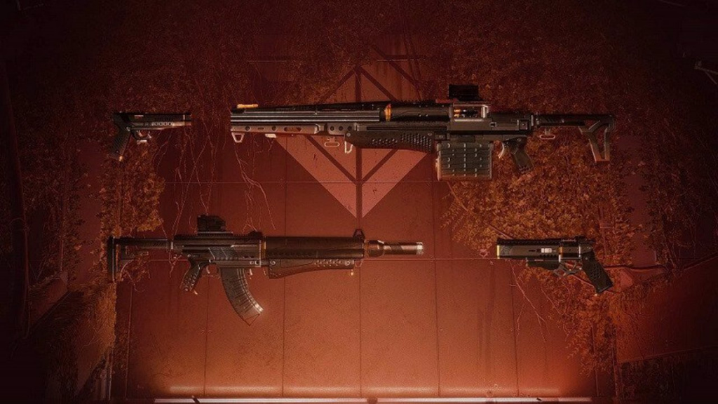 seventh seraph weapons