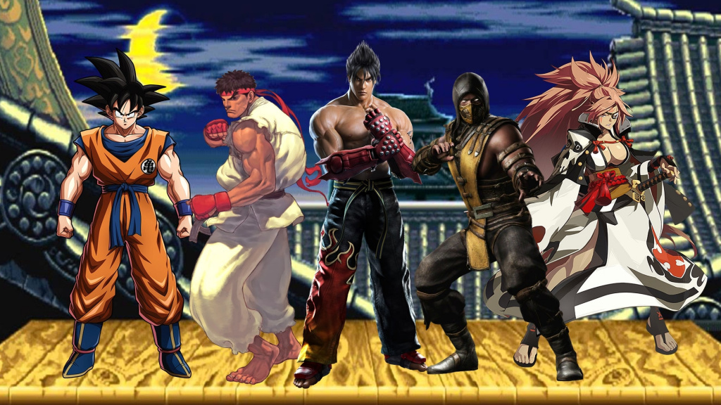 Top 20 greatest fighting games of all time
