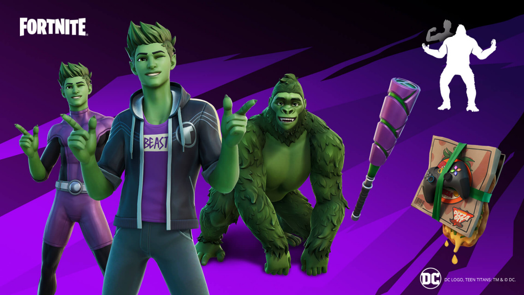 Free Back Bling In Fortnite How To Get Fortnite Beast Boy Skin And Back Bling For Free Ginx Esports Tv