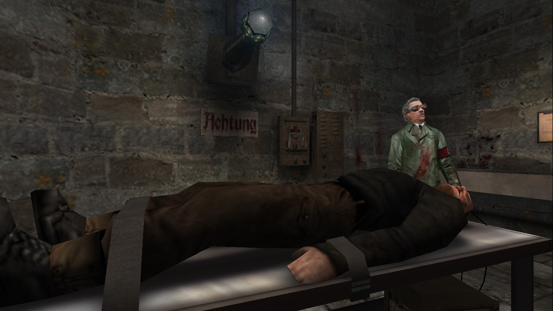 are the wolfenstein games connected