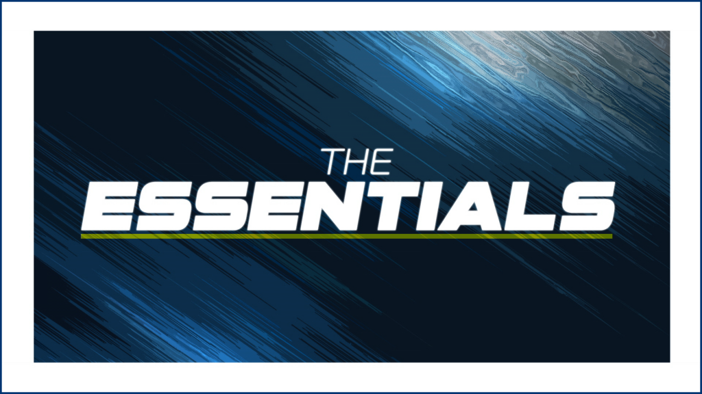 The Essentials logo - Ginx