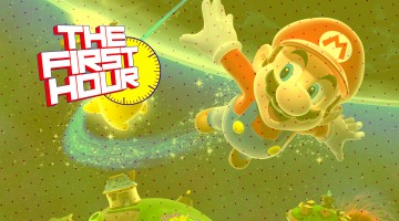 The First Hour Super Mario Galaxy