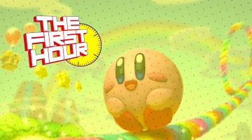 The First Hour Kirby and the Rainbow Paintbrush